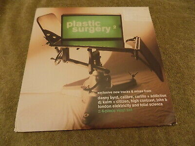 "VA PLASTIC SURGERY 2 4 X 12"" drum n bass EX london elektricity, high contrast"