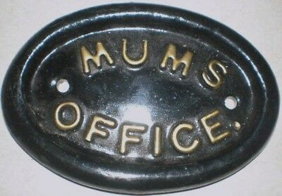 Latex Mould for making This Mums Office Plaque