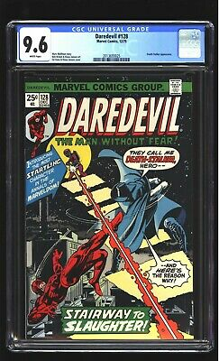 Daredevil 128 CGC 9.6 NM+  Death-Stalker Gil Kane cover Marvel 1975