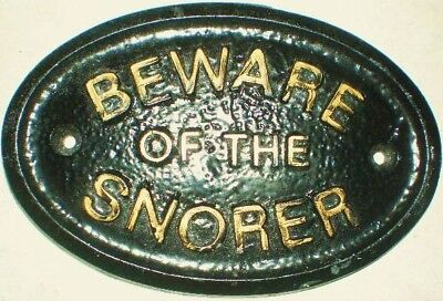 Latex Mould for making This Snorer Sign/plaque