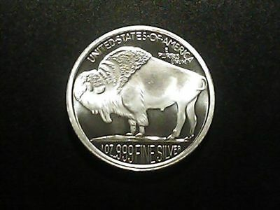 Indian Head / Buffalo Proof 1 oz Silver Round (2015)