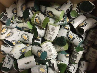 40 Packs Assorted Readicut Pre Cut Rug Wool Carpet Yarn Pure Latch Hook Greens