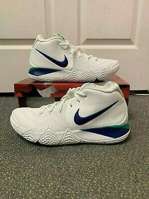 finest selection 87b07 9956a NIKE KYRIE 4 Seattle Seahawks White Blue Green SZ 12 Brand New See  Description