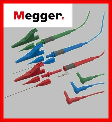 Tools & Equipment Megger 1001-883 3-Wire Test Lead Set for MFT1500