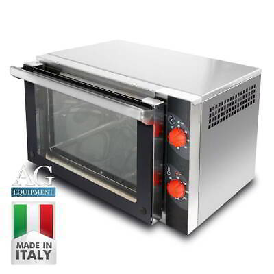 Commercial Italian Made Bench Top Convection Oven includes 3 x GN2/3 Racks/Trays
