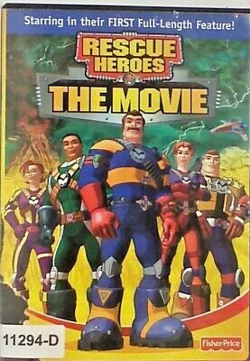 DVD RESCUE HEROES - THE MOVIE - Fisher Price in Original Jacket FS 10