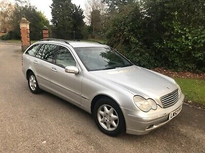 Mercedes C220 cdi estate very low miles 94K FSH 2 owners NEW 12 MONTHS MOT
