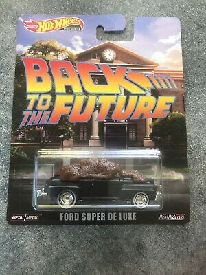 2019 Hot Wheels New Entertainment Series Back To The Future Ford Super De Luxe