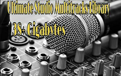 Ultimate Multitrack Library | WAV+MP3 | Digital Download | Studio Quality Sounds