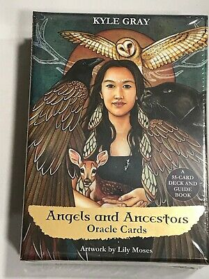 Angels and Ancestors Oracle Cards by Kyle Gray NEW Sealed