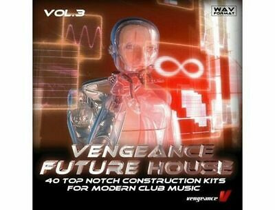 Future House Vol. 3 | WAV | Digital Download | Modern Club | Samples | 40 Kits