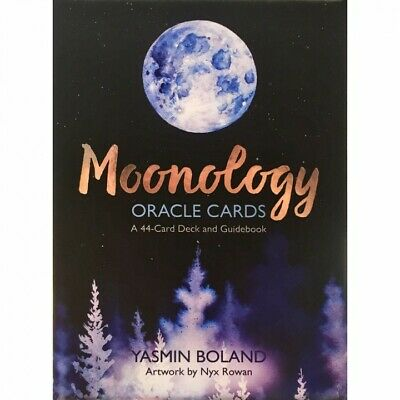 Moonology Oracle Cards by Yasmin Boland NEW Sealed