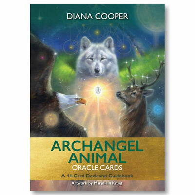 Archangel Animal Oracle Cards by Diana Cooper NEW Sealed