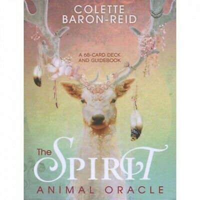 Spirit  Animal Oracle Cards by Colette Baron-Reid NEW Sealed