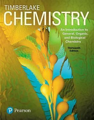 Chemistry: Chemistry : An Introduction to General, Organic, and Biological...