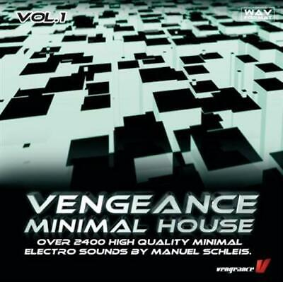 Minimal House Vol. 1 | WAV | Digital Download | 2400+ Minimal Electro Sounds