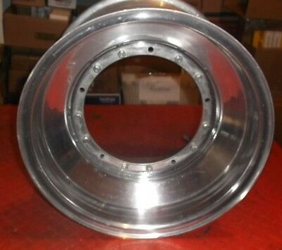 Sprint Car Race Car Circle Non Bead Lock Front Wheel, 10 x 4