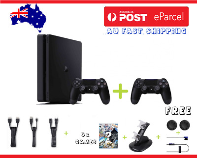 PLAYSTATION 4 SLIM PS4 500GB or 1TB CONSOLE + WARRANTY | Choose your Bundle