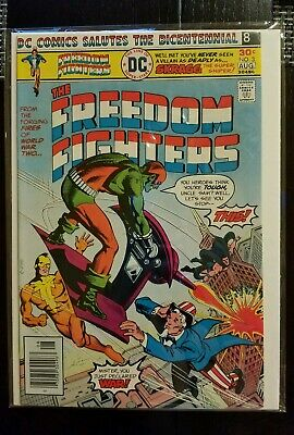 FREEDOM FIGHTERS #3 Aug 1976 DC COMICS NM 9.0