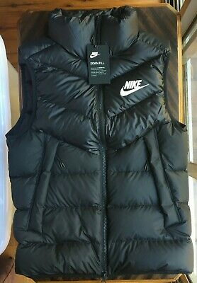 Nike Mens Down Puffer Vest Size S