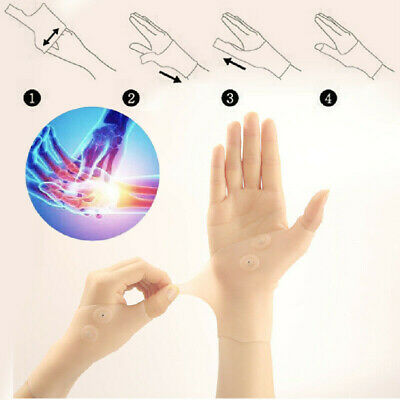 Therapy Magnetic Thumb Support Pain Relief Gloves Healthcare Corrector QV8