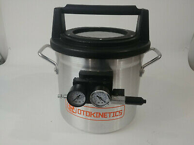 Rotokinetics VC200N 2 gallon vacuum chamber for Silicone Molds