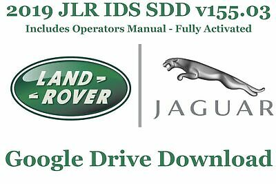 2019 JLR IDS SDD v155.03 - ACTIVATED - JAGUAR - LAND ROVER - DIAGNOSTIC PROGRAM