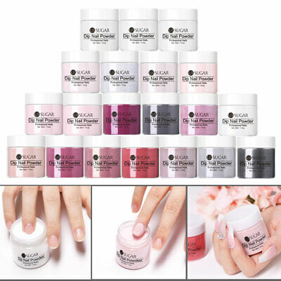 UR SUGAR 30ml 1oz Pink  Clear Nail Dipping DIY Powder System Natural Dry