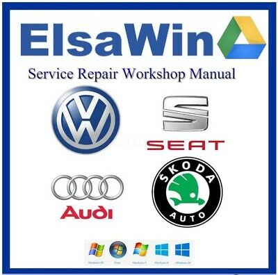 2019 ELSAWIN6.0 - Repair Manual Program - Audi VW Seat Skoda Diagram Software
