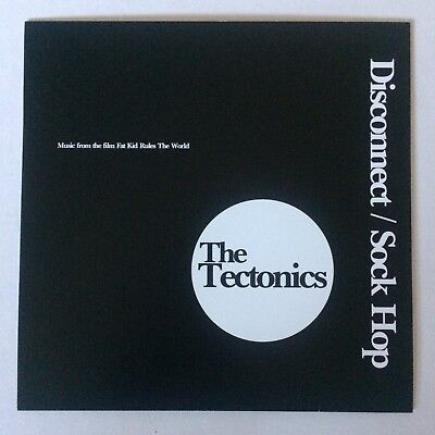 "New Rare THE TECTONICS * MIKE MCCREADY of Pearl Jam ""DISCONNECT"" CLEAR 7"" VINYL"