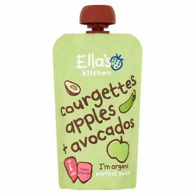 Ellas Kitchen Courgettes Apples & Avocados 120g (Pack of 7)