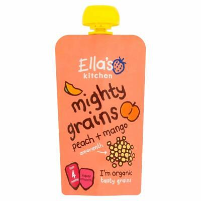 Ellas Kitchen Mighty Grains Peach Mango & Amaranth 120g (Pack of 7)