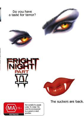 Fright Night 2 - Roddy Mcdowall - Dvd - Free Local Post