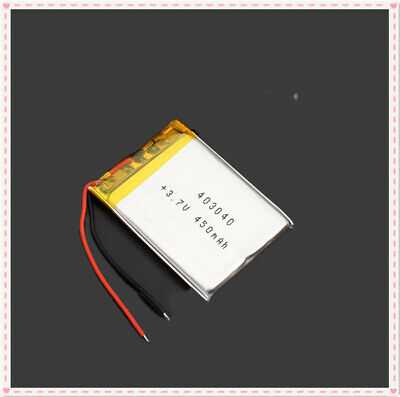403040 3.7V 450mAh 30*40mm Lithium Cells Li-ion Polymer Rechargeable Battery PM