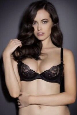 AGENT PROVOCATEUR ALINA Black Bra Various Sizes Bnwt Rrp £110 ... e710f3fa9