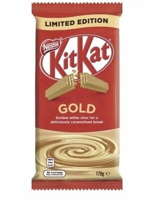 Kit Kat Gold Choc Block - 1 x 170g - Best Before July 2019 - NEW