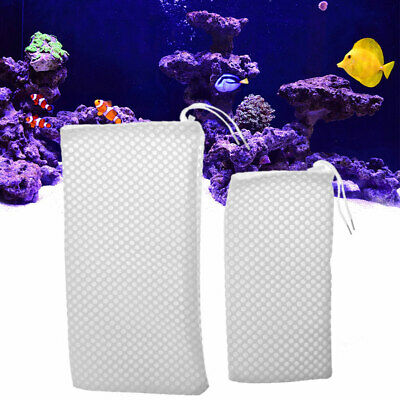 Reusable Fish Tank Filter Bag Sump Sock Felt Dry Wet Separation Aquarium