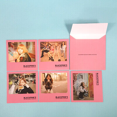 BlackPink's 2019 Welcoming Collection Official Polaroid Photocard 5ea Set