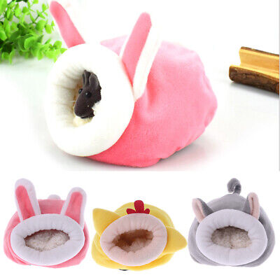 Lovely Design Animal Hamster Hammock Small Pet Rat Sleeping Bed Cage Warm House