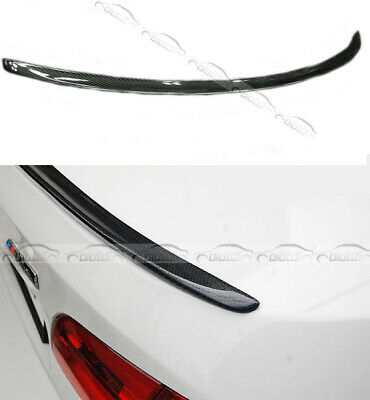For BMW Carbon Fiber Rear Trunk Spoiler Wing Fits 3-Series E92 M3 2007 UP