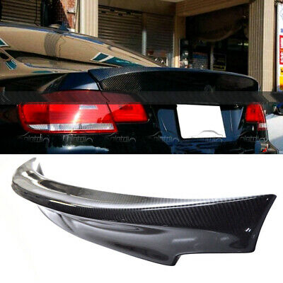 Carbon Fiber For BMW CSL Style Rear Trunk Spoiler Fit  E92 3-Series Coupe & M3
