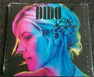 DIDO - Still On My Mind SIGNED / AUTOGRAPHED CD SHIPPING NOW 8th March Faithless