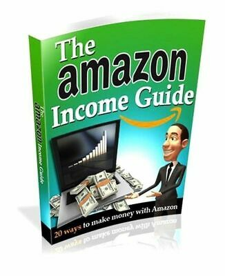 THE AMAZON INCOME GUIDE PDF E-BOOK Resell rights​ Bonus ebooks FREE SHIPPING
