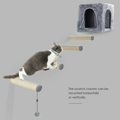 Pet Cat Tree Scratching Post SISAL Wrapped Pole Replacement Parts Condo Box