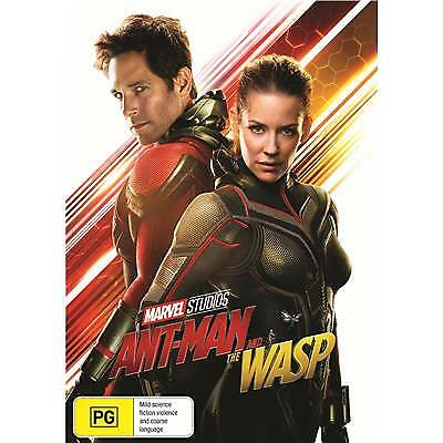 Ant-Man and the Wasp DVD 2018 PG / Buy 4 or more DVD's = We Refund Postage