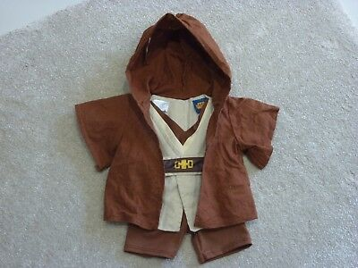 Build a Bear Star Wars Jedi outfit clothes bundle tunic belt trousers robe