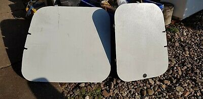 Vw Caddy Rear Window Guard Security Panels