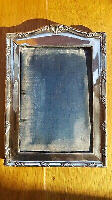 Antique Silver Photo/ Picture frame