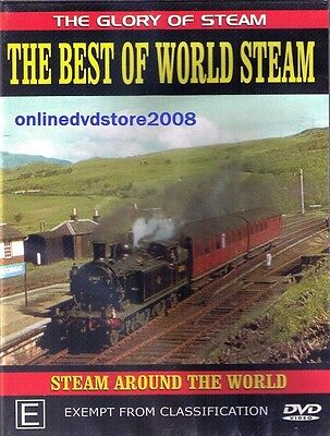 The BEST of WORLD STEAM TRAINS Story Classic LOCOMOTIVES - Documentary DVD NEW