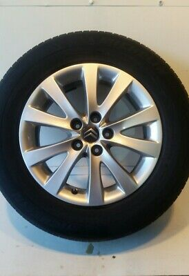"16"" Citroën C5 (08-11)  5 Paired Spoke 5 Stud  Alloy Wheel And 225/60/16 Tyre."